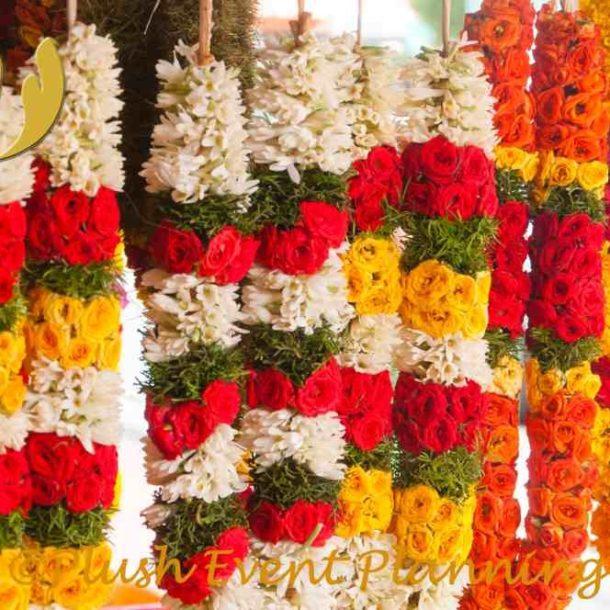 Indian Wedding Flower Decor