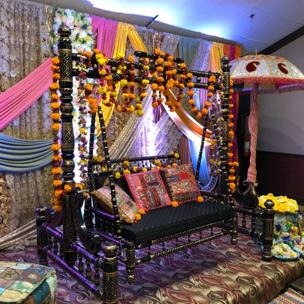 Mehndi Function Decor Shahi Banquets