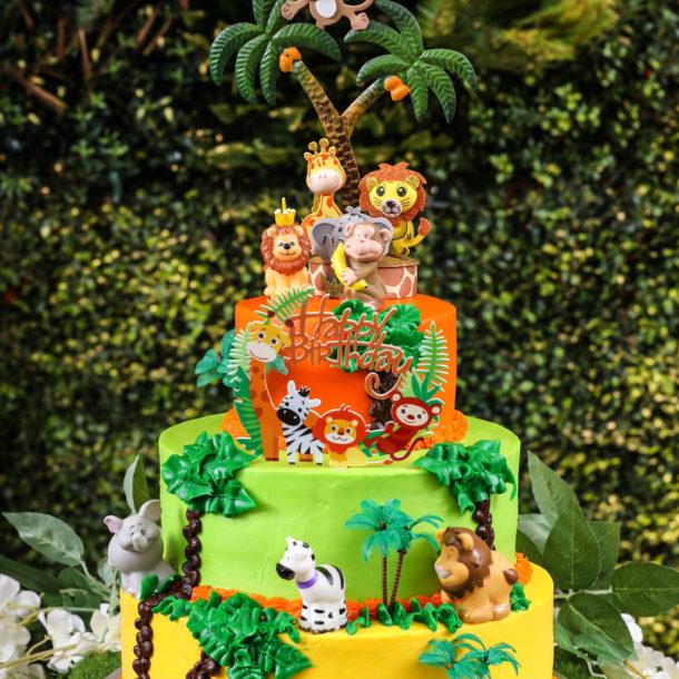Jungle Cake By Raheela AL Karim